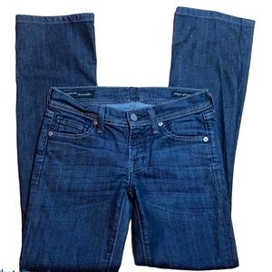 Citizens of Humanity  low rise flare Jean size 24
